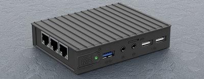 Fitlet RM - Rugged Metal housing, GI AMD C64.  NORAM, WIFI-BT