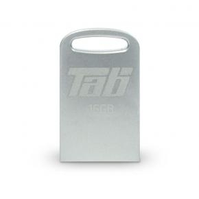 Patriot PSF16GTAB3USB LIFESTYLE LS TAB [16GB, USB3.1 Gen1, 140/ 20MB/s, Silver]