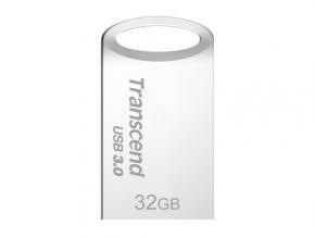 Transcend TS32GJF710S JetFlash 710 [32GB, USB3.1 Gen1, 90/ 24MB/s, Silver Plating]