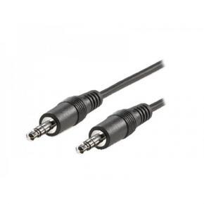 ADJ 300-00018 3.5mm Audio Cable [M/M, 2m, Black, Blister]