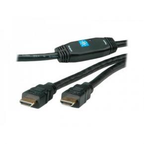 ADJ 300-00002 HDMI w/ Repeater [M/M, 30m, Black]