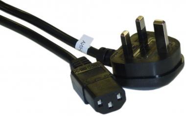 230V AC/10A UK power cord UL/CSA 6ft (+-1.2m)
