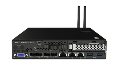 Lenovo ThinkSystem  SE350 Xeon  D-2143IT (8C 2.2GHz 11MB Cache/65W), 32GB (1x32GB), 1x480GB Industrial SED, PCIe, 2x240W, 10Gb SFP+, XCC Enterprise, Stackable with locking beze
