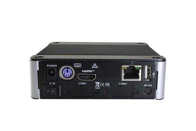 EBOX-3332-SSDMI - 2GB RAM. SD, SATA, 4xUSB (3 external, 1xinternal, HDMI, Line-out, 4xFull RS232, 1xLAN