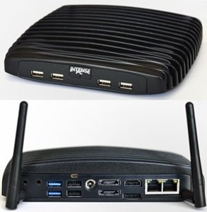 Intense PC - Intel Core i7-3517UE (1.7 Ghz  dual core + Intel HD Graphics 4000 17W) / NORAM  / NODISK / Wifi 802.11 b/g/n + BT3 / 4 USB Face module
